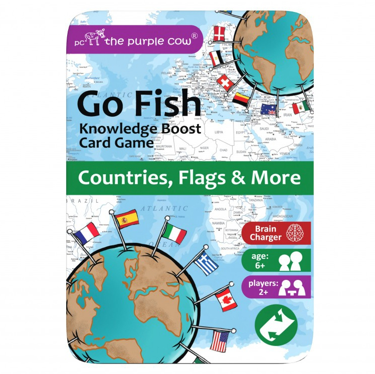 GO FISH - Countries flags & more