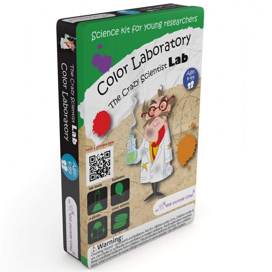 The Crazy Scientist LAB - Color Laboratory