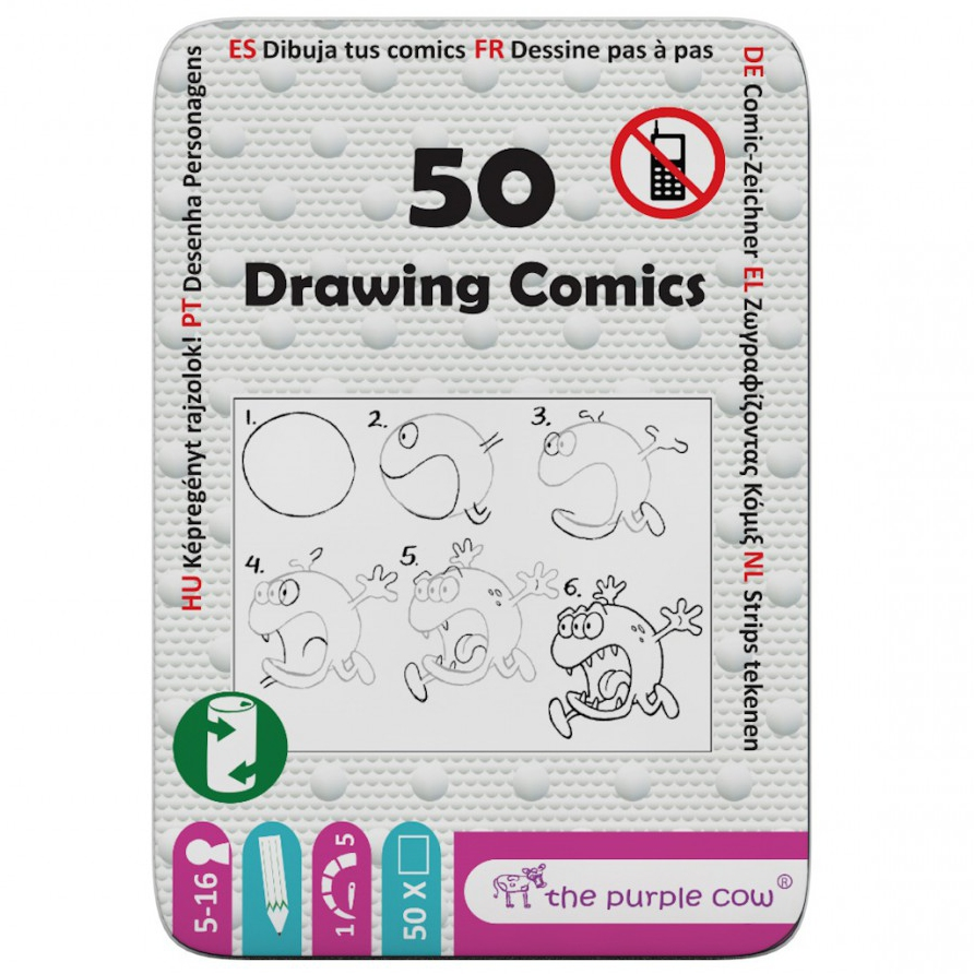 50 –Drawing Comics