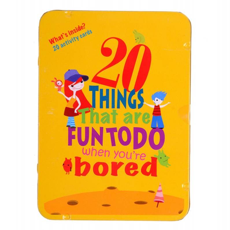 20 Things That are Fun To Do When you're Bored